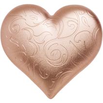 現貨 - 2021帛琉-玫瑰色的心-心型-2盎司銀幣