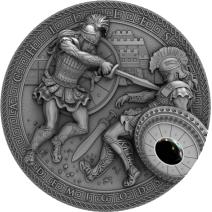 現貨 - 2017紐埃-半神人系列-阿基里斯-2盎司銀幣