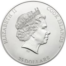 現貨 - 2020庫克群島-7頂峰系列-查亞峰-5盎司銀幣