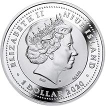 現貨 - 2020紐埃-古埃及的象徵系列-隼-17.5克銀幣
