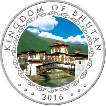 現貨 - 2016不丹-生肖-猴年-高浮雕-1盎司銀幣(精鑄)
