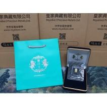 現貨 - Scottsdale獅王-1克金條(新版卡裝)(贈絨布盒+提袋)