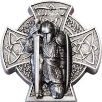 現貨 - 2019馬恩島-曼島的第一位國王-馬納南-3盎司銀幣