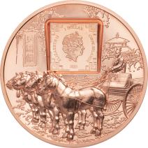 現貨 - 2021庫克群島-兵馬俑-50克銅幣