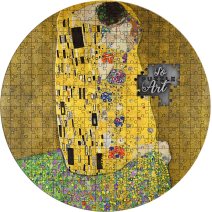 現貨 - 2019喀麥隆-拼圖藝術系列-古斯塔夫·克林姆(吻)-3盎司銀幣