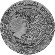 現貨 - 2020紐埃-中國古代武將系列-呂布-2盎司銀幣