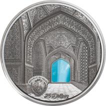 現貨 - 2020帛琉-蒂芙尼藝術系列-伊斯法罕聚禮清真寺-5盎司銀幣