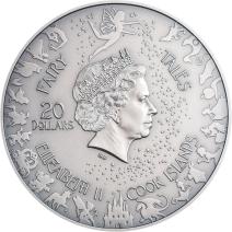 現貨 - 2019庫克群島-童話與寓言系列-小紅帽-3盎司銀幣