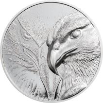 現貨 - 2020蒙古-雄偉的鷹-1盎司銀幣