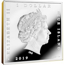 現貨 - 2019紐埃-世界寶藏系列-詹姆斯·惠斯勒-畫家的母親-1盎司銀幣