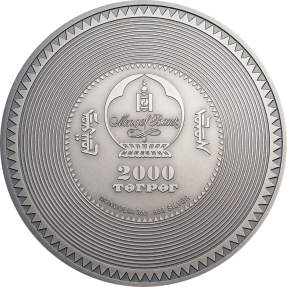 現貨 - 2019蒙古-考古與象徵主義系列-時輪金剛壇城-3盎司銀幣