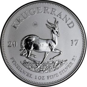 現貨 - 2017南非-克魯格-1盎司銀幣(普幣)