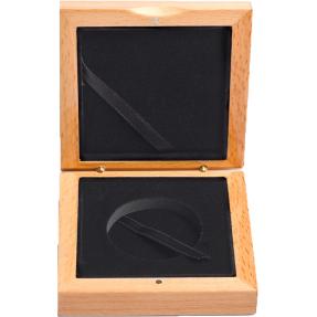 現貨 - 木盒-單枚銀幣塑殼外徑45mm專用
