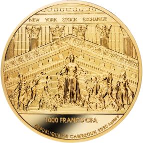 預購(即將到貨) - 2020喀麥隆-紐約證券交易所大贏家-1盎司銀幣