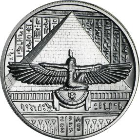 現貨 - 埃及艷后-2盎司銀幣(含美國Air-tites專用塑殼)