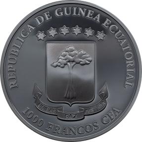 現貨 - 2018赤道幾內亞-黑暗面-死神-1盎司銀幣