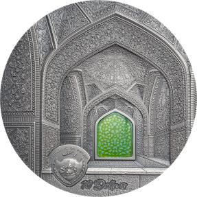 預購(即將到貨) - 2020帛琉-蒂芙尼藝術系列-薩法維王朝-2盎司銀幣
