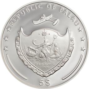 預購(確定有貨) - 2020帛琉-邪惡之眼-1盎司銀幣
