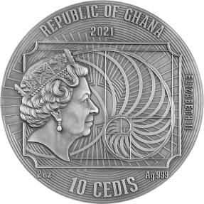 現貨 - 2020迦納-世界上最偉大藝術家系列-阿爾布雷希特·杜勒-2盎司銀幣