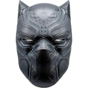 現貨 - 2021斐濟-Marvel系列-黑豹-面具造型-2盎司銀幣