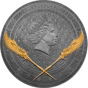 現貨 - 2020紐埃-五虎將軍系列-關羽-3盎司銀幣