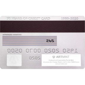 現貨 - 2020紐埃-信用卡-70週年紀念-造型-46.46克銀幣