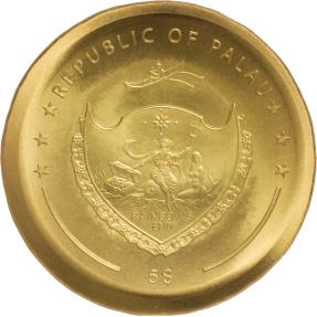 現貨 - 2021帛琉-印加太陽神-1盎司銀幣