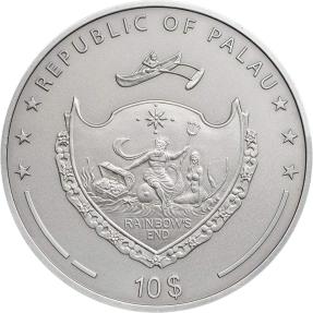現貨 - 2014帛琉-神話人物系列-吸血鬼-2盎司銀幣(第二枚)