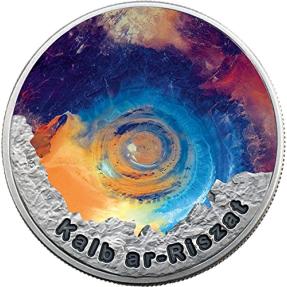 現貨 - 2016紐埃-撒哈拉之眼在秘密的圈子-1盎司銀幣(新版本)