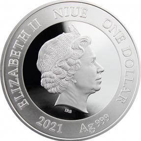 現貨 - 2021紐埃-我的第一桶金-15.55克銀幣
