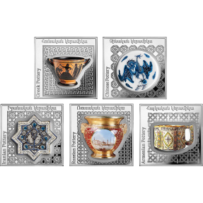 2018亞美尼亞-世界陶器系列-