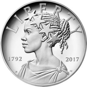 現貨 - 2017美國-美國自由-225週年紀念-1盎司銀幣