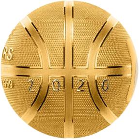 現貨 - 2020薩摩亞-籃球-球型-1盎司銀幣