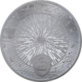 預購(即將到貨) - 2021帛琉-最後的邊界系列-銀河系-3盎司銀幣