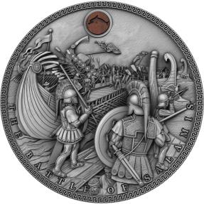 現貨 - 2019紐埃-海戰系列-薩拉米斯戰役-2盎司銀幣