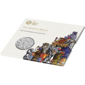 預購(已確認貨) - 2021英國-皇后野獸-十獸版-28.28克硬幣(卡裝)