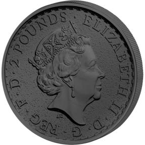 現貨 - 2017英國-生肖-雞年-金謎版-1盎司銀幣