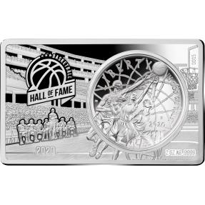 現貨 - 2020美國-籃球-名人堂-60週年紀念-2盎司銀條