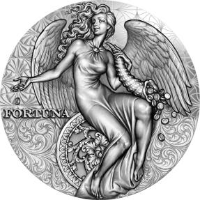 現貨 - 2021喀麥隆-福圖納女神-2盎司銀幣