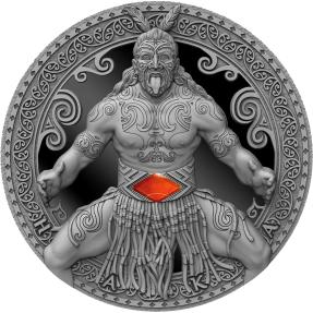 現貨 - 2020喀麥隆-世界文化系列-哈卡舞(瑪瑙)-2盎司銀幣