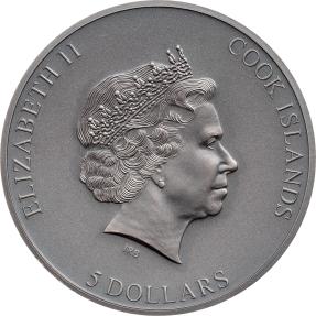 預購(限已確認者下單)(原廠已售罄) - 2021庫克群島-困Ⅲ-1盎司銀幣