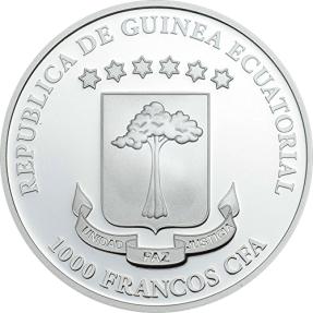 現貨 - 2016赤道幾內亞-惡魔聖經黑暗面-CODEX GIGAS-1盎司銀幣