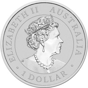 預購(限已確認者下單) - 2021澳洲伯斯-鴯鶓-1盎司銀幣(普鑄)