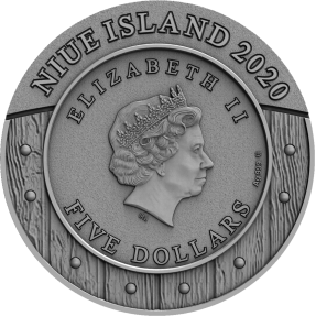 現貨 - 2020紐埃-女勇士系列-女武神-2盎司銀幣