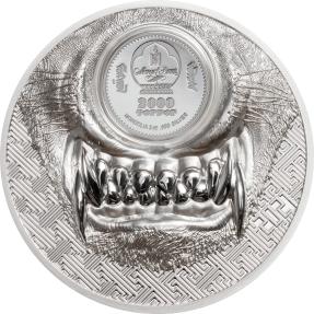 現貨(原廠已售罄) - 2021蒙古-神秘狼-3盎司銀幣