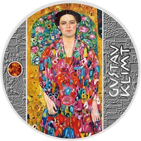 現貨 - 2019紐埃-古斯塔夫·克林姆-金色藝術-尤金妮亞肖像-17.5克銀幣