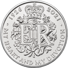 預購(限已確認者下單) - 2021英國-英女王95歲誕辰-28.28克硬幣(卡冊)