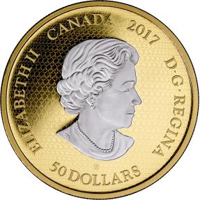 現貨 - 2017加拿大-超人系列-DC漫畫原創-智勇悍將-3盎司鍍金銀幣