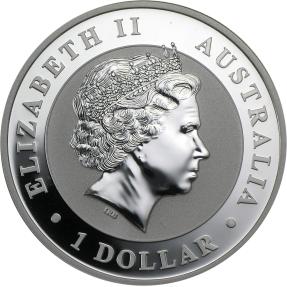 現貨 - 2011澳洲伯斯-無尾熊-1盎司銀幣