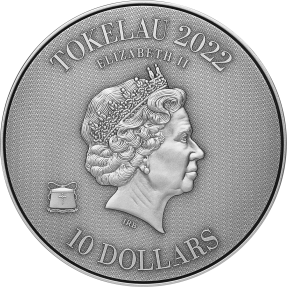 預購(確定有貨) - 2022托克勞-非洲獅VS石獅-(2盎銀+11.5盎司銅)銀幣